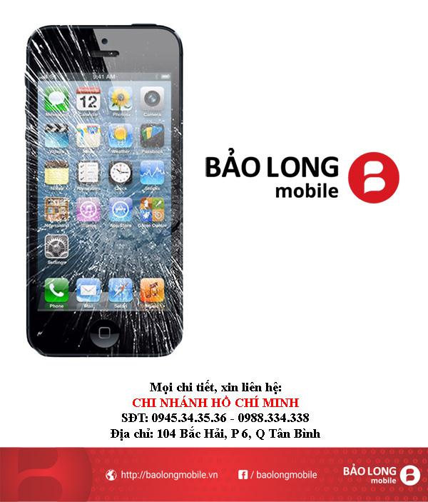 Thay màn hình iPhone 5 - Chỗ nào ở SG uy tín, bảo trì lâu?