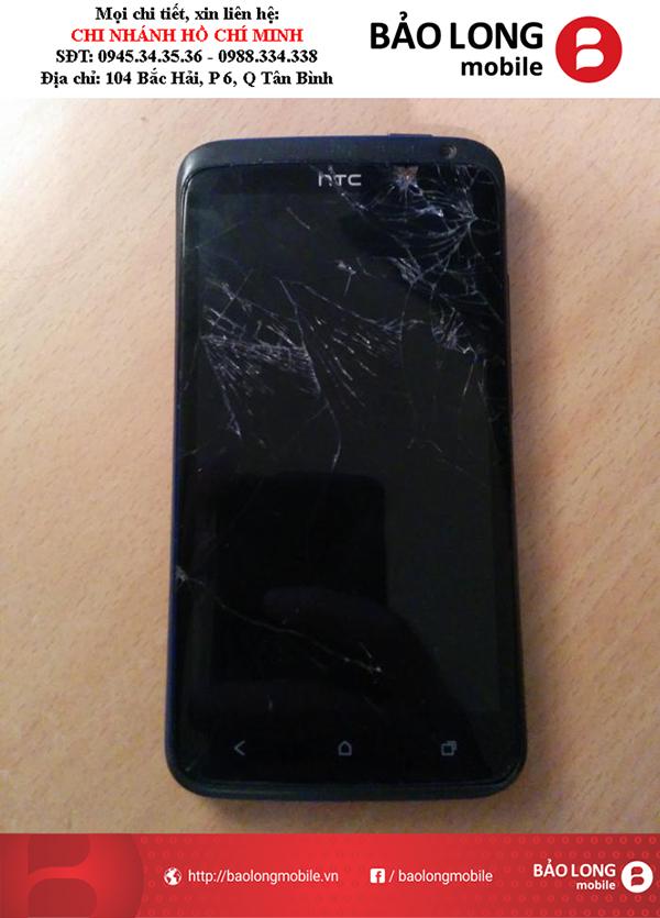 Các tình trạng gặp phải về cảm ứng sau khi thay màn hình HTC One X