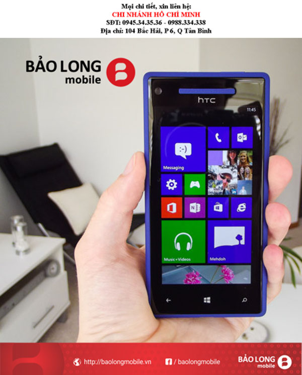 Ở Tp.HCM, cần thay màn hình HTC 8X, nên tới trung tâm nào?