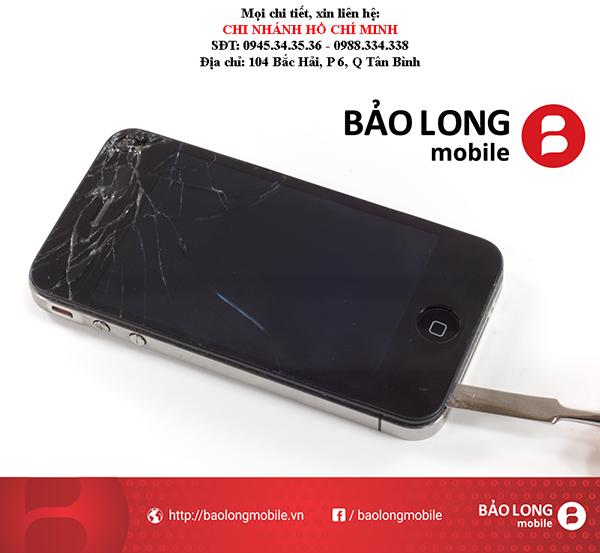 Thay màn hình iPhone 4s - Phương pháp giải quyết và xử lý tình trạng hình ảnh sau khi thay