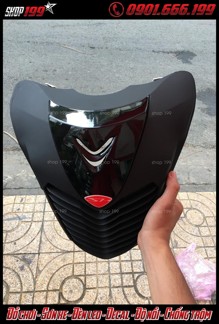 Image: Gắn mặt nạ version 1 làm cho xe Honda SH 2018 2019 2020 150i 125i trông sang hơn.