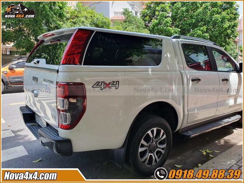Tác dụng của nắp thùng xe bán tải Hilux Navara BT50 Ford Ranger Colorado Dmax Triton
