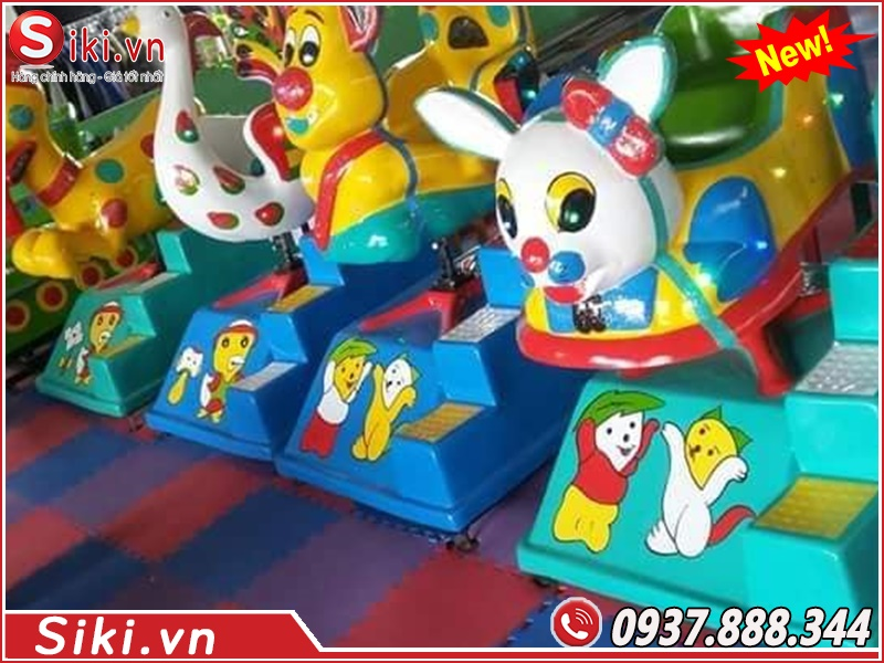 Đơn vị bán thú nhún điện dành cho trẻ em chất lượng giá tốt